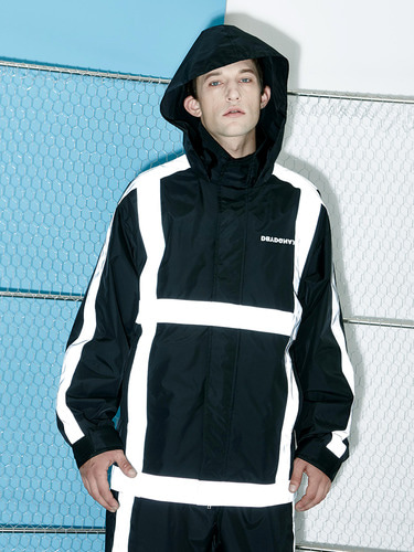 [Season Off 50% 세일]Scatch Windbreaker (BK)