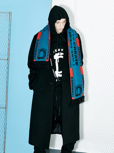 [Season Off 50% 세일]Generative D Tape Coat (BK)