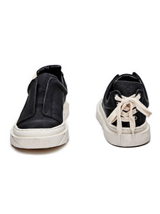 [Season Off 30% 세일]Open Layer Slip-On (BK)