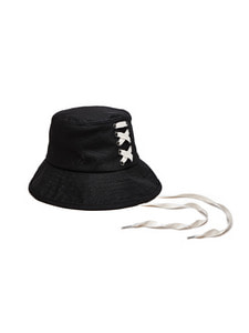 [Season Off 50% 세일]Back Lace-Up Bucket Hat (BK)