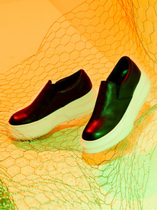 [Season Off 30% 세일]Leather Slip-on (IV)
