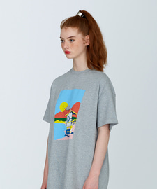 [발매기념 5% 세일]Sunset Beach T-Shirts(GE)