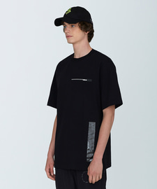 PVC Length T-Shirts(BK)