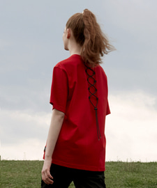 [발매기념 5% 세일]Back String T-Shirts(RE)