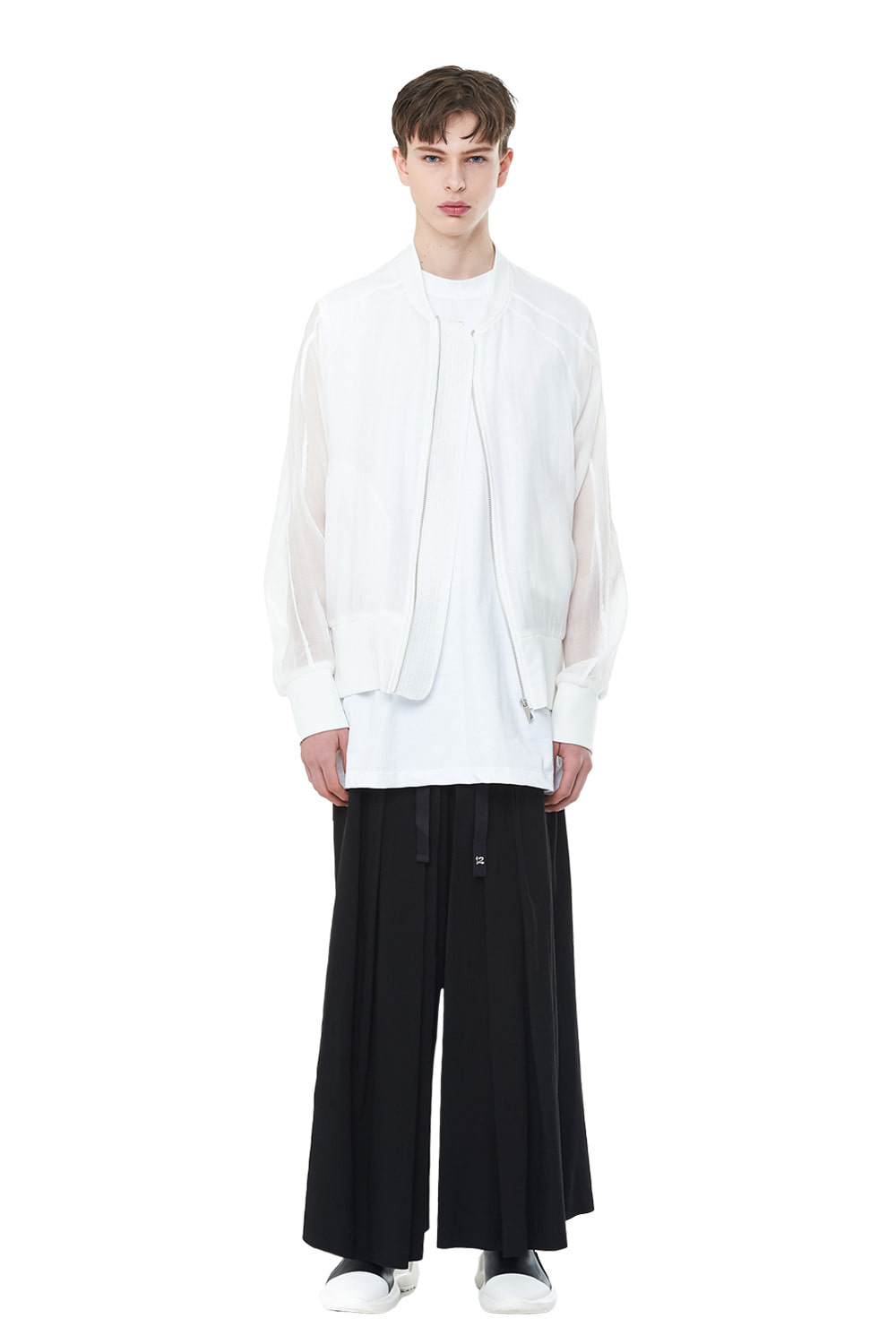 [20SS][50%SALE] See-through Oversize MA-1 (WH)_ PA1JP0404