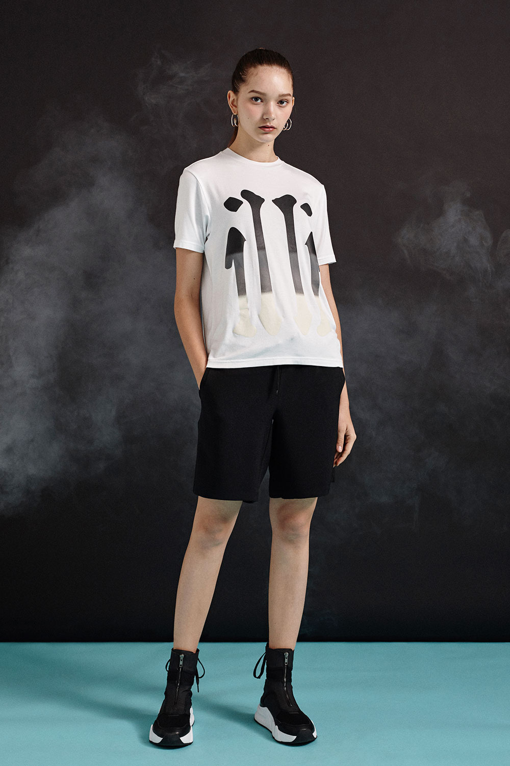 [19SS][70%SALE] illi Big Print T-Shirts (WH)