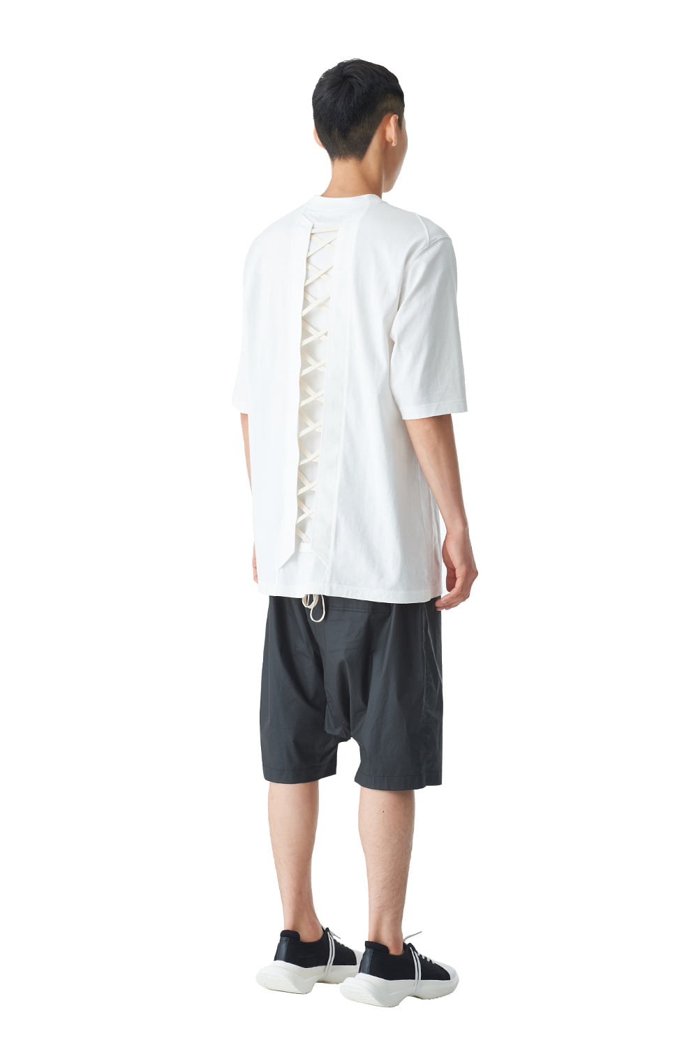 [20SS][10% SALE] Back Lace-up T-Shirts 2020ver (WH)_ PA1TS4242