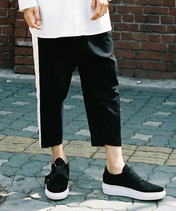 [50%세일] Color Line Baggy Pants (WH)