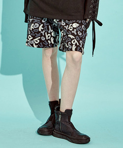 [Season Off 40% 세일] Skull Pattern Shorts (BK)